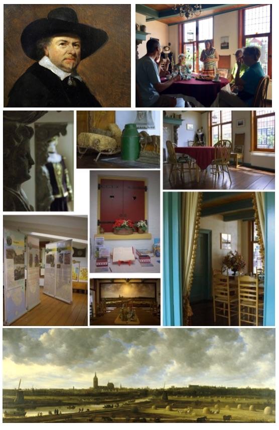 Jan van Goyenhuis, woonhuis van de landschapsschilder
